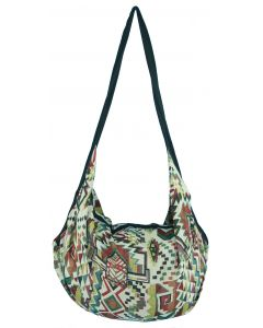 Knitted Cotton Backpack Tote Bag with Zip