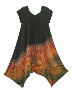 Tie Dye Mini Dress Sz S M