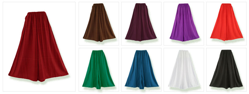 Choose your colours and size Wide Leg Palazzo Pants here