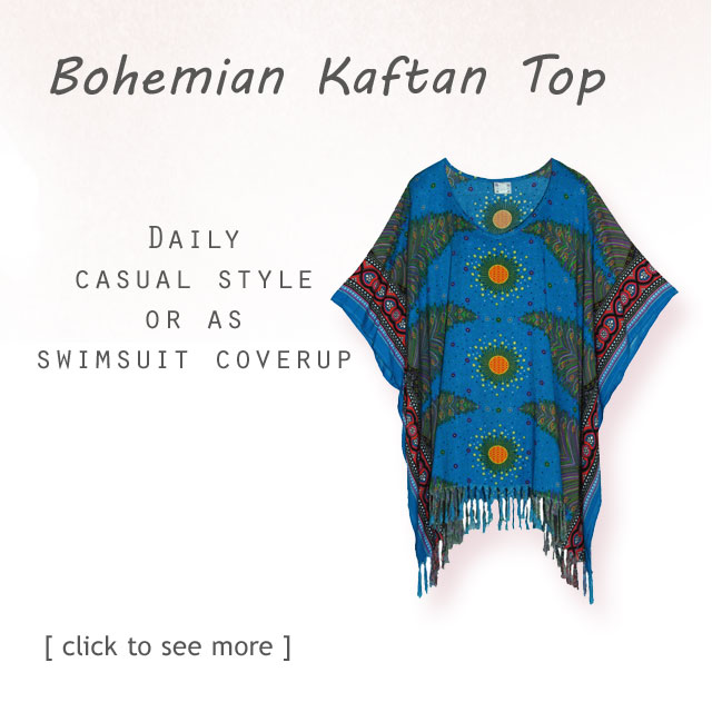 Find Your Beautiful gorgeous Tunic Tops with bohemian inspired printed motif