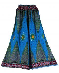 Blue Palazzo Wide Leg Pants Trouser 1X 2X 3X