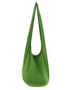 GREEN HIPPIE Gypsy Cotton Hobo Monk Bag
