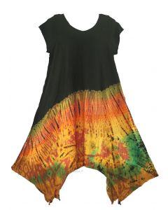 Tie Dye Mini Dress Sz S M