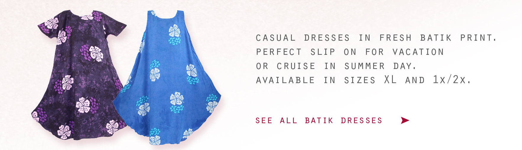 Plus Size Batik Dresses
