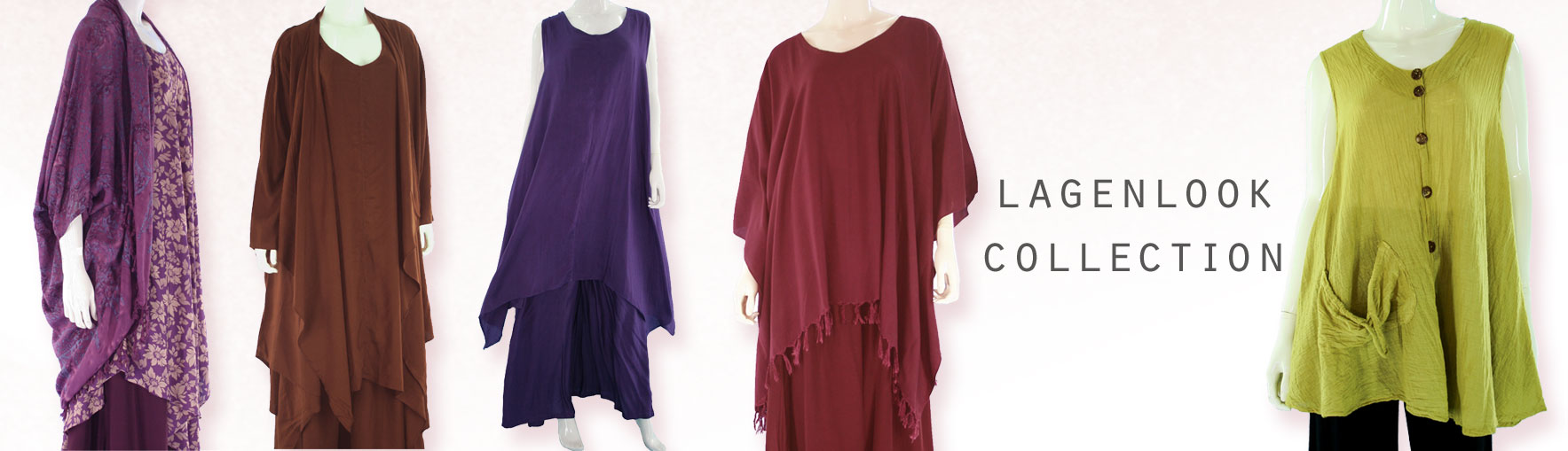 Find your perfect lagenlook dress & lagenlook layer clothing