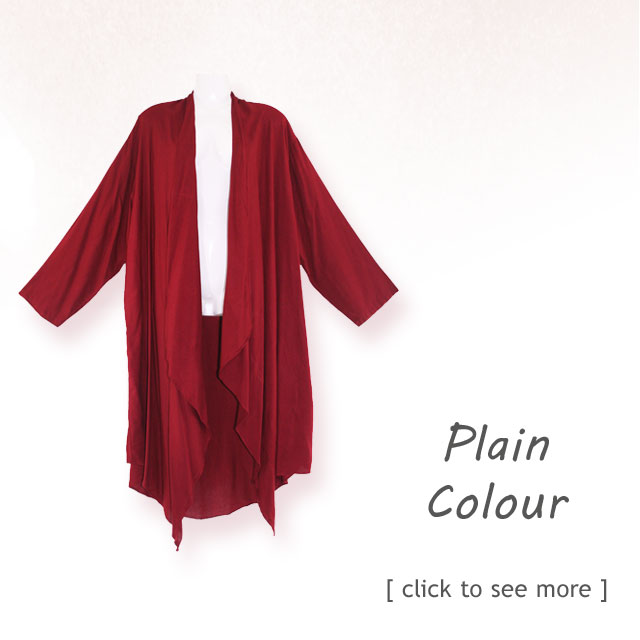 Simple and look great in plain style. Plus Size Jacket Kimono
