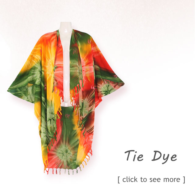 Back to Hippie tie dye age...
