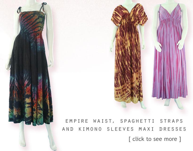 Maxi Tie Dye Dress